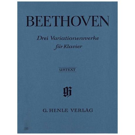 Beethoven, L. v.: 3 Variationenwerke WoO 70, 64, 77