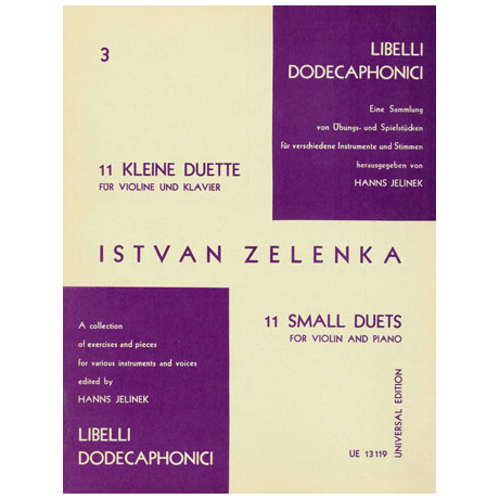 Zelenka, I.: 11 kleine Duette Nr. 3