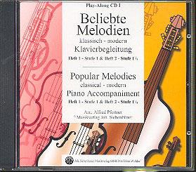 Beliebte Melodien: klassisch bis modern Band 1-2 (CD)