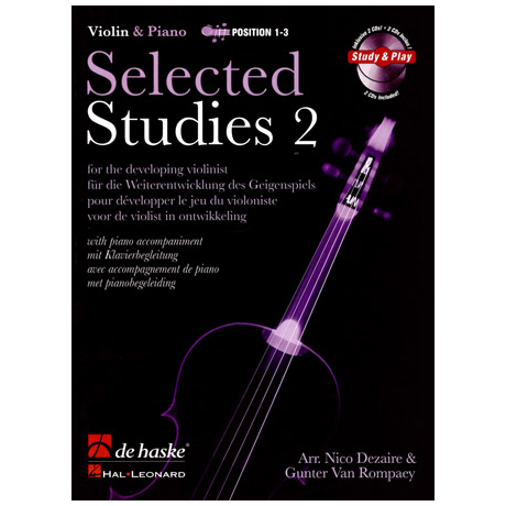 Selected Studies for Violin Band 2 (+2 CDs)