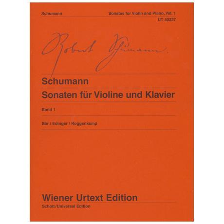 Schumann, R.: Violinsonaten Band 1