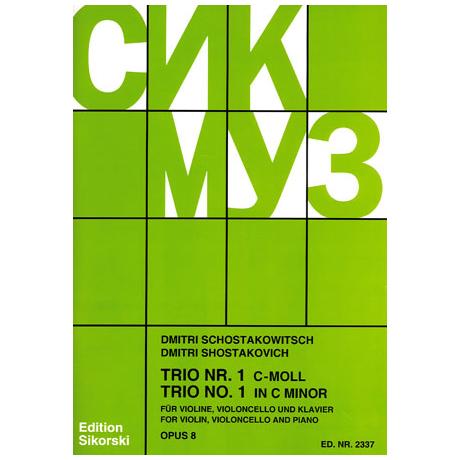 Schostakowitsch, D.: Klaviertrio Nr. 1 Op. 8 c-Moll (1923)