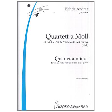 Andrée, E.: Quartett a-Moll