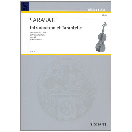 Sarasate, P. d.: Introduction et Tarantelle Op. 43