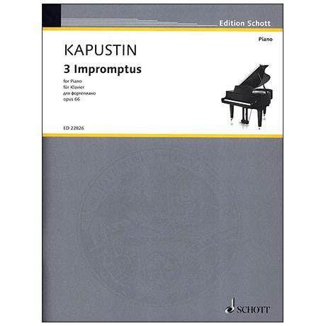 Kapustin, N.: 3 Impromptus Op. 66 (1991)