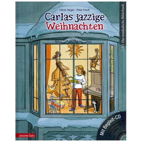 Carlas jazzige Weihnachten (+CD)