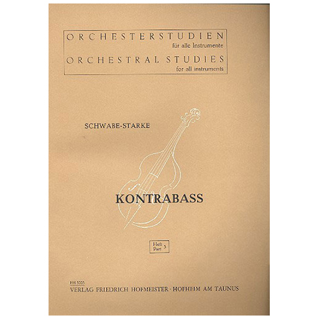 Schwabe / Starke, A.: Orchesterstudien Band 3 - Beethoven, Haydn, Gluck, Mozart