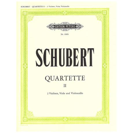 Schubert, F.: Streichquartette Band 2: G-Dur D887, B-Dur D112, g-moll D173, D-Dur D94, c-moll D703