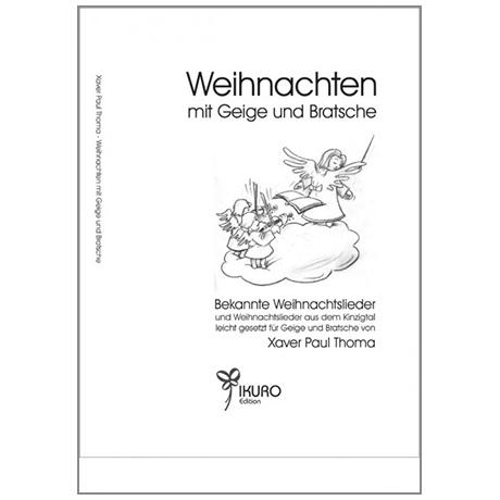 Thoma, X. P.: Weihnachten mit Geige und Bratsche