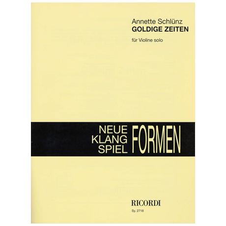 Schlünz, A.: Goldige Zeiten