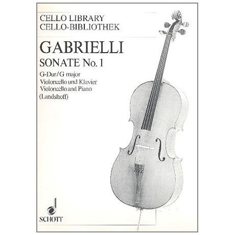 Gabrielli, D.: Sonate Nr. 1 G-Dur