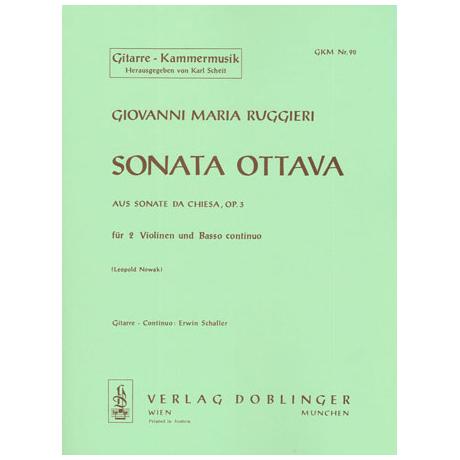 Ruggieri, G. M.: Sonata ottava G-Dur Op. 3