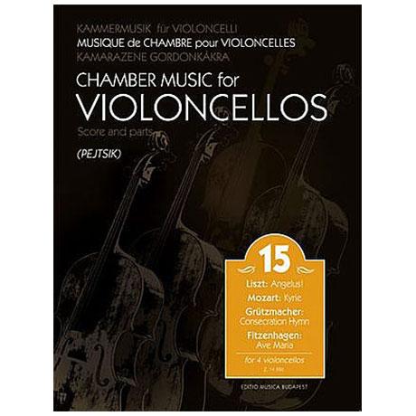 Kammermusik für Violoncelli Band 15
