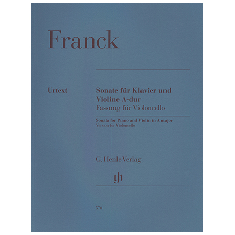 Franck, C.: Violinsonate A-Dur