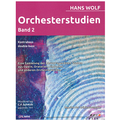 Wolf, H.: Orchesterstudien Band 2