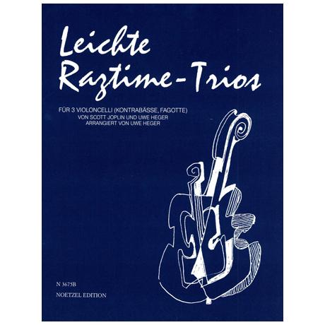 Joplin, S.: Leichte Ragtime-Trios