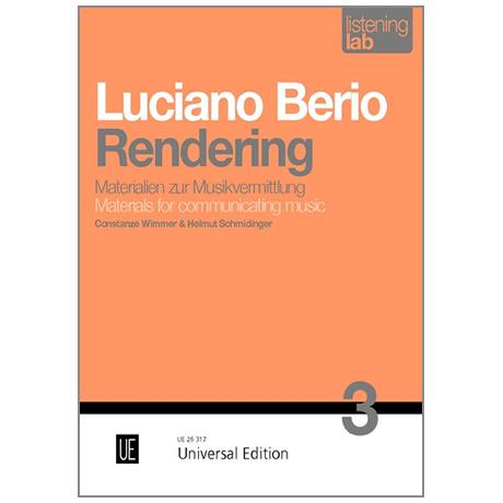 Wimmer, C. / Schmidinger, H.: Luciano Berio »Rendering«