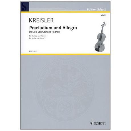 Kreisler, F.: Praeludium und Allegro nach G. Pugnani