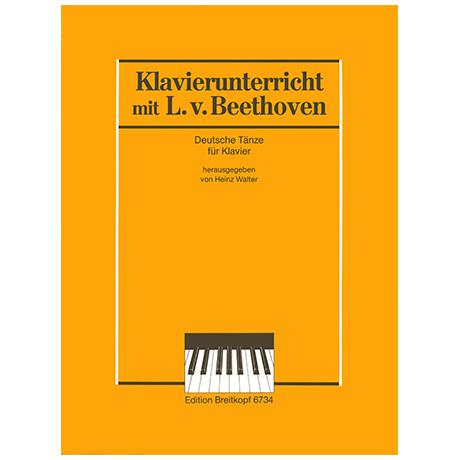 Beethoven, L. v.: Deutsche Tänze