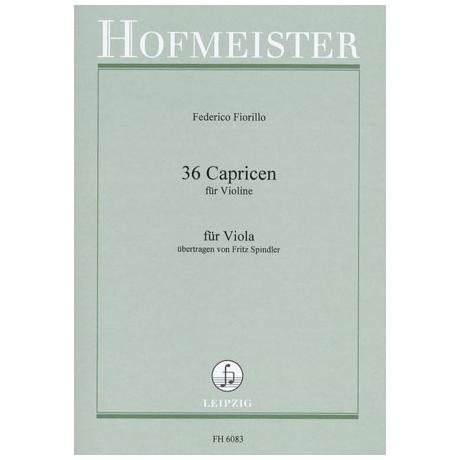 Fiorillo, F.: 36 Capricen