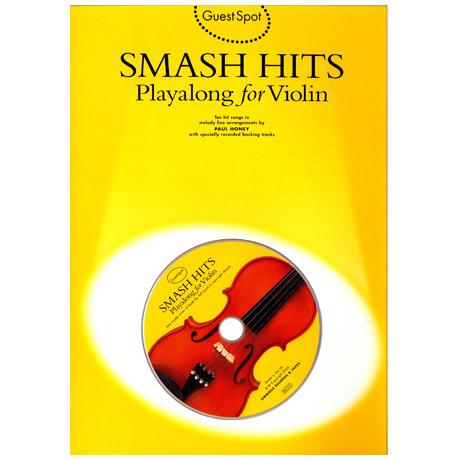 Smash Hits Playalong For Violin (+CD)