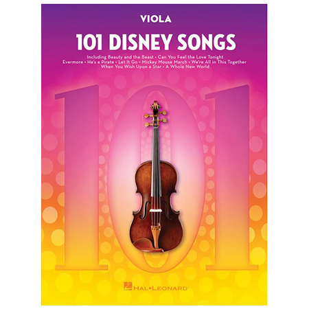 101 Disney Songs for Viola