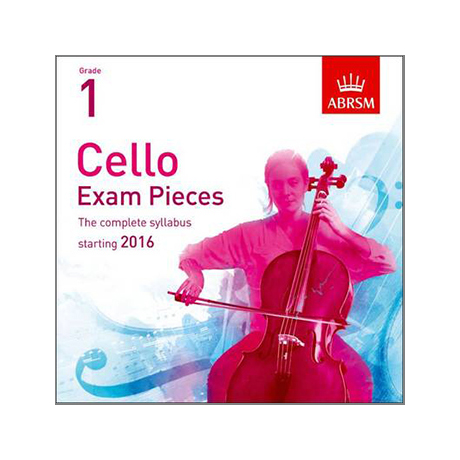 ABRSM: Cello Exam Pieces Grade 1 (2016-2019) CD