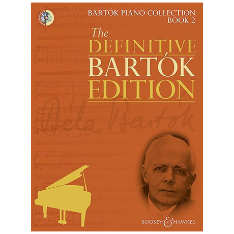 Bartók, B.: Bartók Piano Collection Band 2 (+CD)