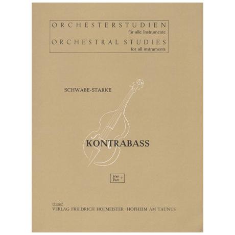 Schwabe / Starke: Orchesterstudien Band 7 - Wagner: Walküre, Siegfried, Der Ring des Nibelungen