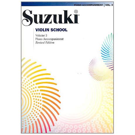 Suzuki Violin School Vol.3 – Piano Accompaniment