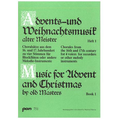 Advents - und Weihnachtsmusik alter Meister 1