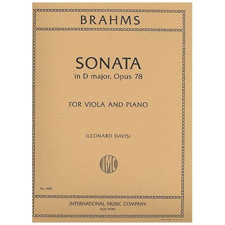 Brahms, J.: Sonate in D-Dur op. 78