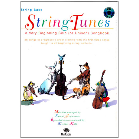 String Tunes: for Bass (+CD)