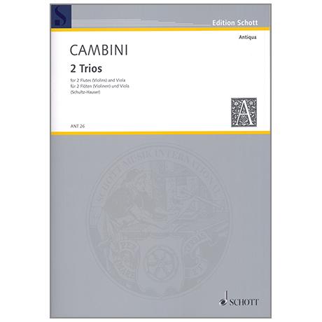 Cambini, G. G.: 2 Trios