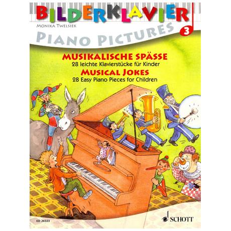 Bilderklavier – Musikalische Späße