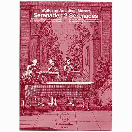 Mozart, W. A.: Serenade C-Dur KV 439b/2
