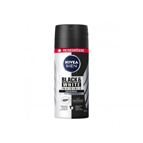 NIVEA MEN Deo Spray Antitranspirant Black&White Power, 100 ml