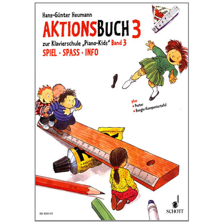 Piano Kids Aktionsbuch 3