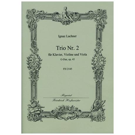 Lachner, I.: Trio Nr. 2 Op. 45 G-Dur