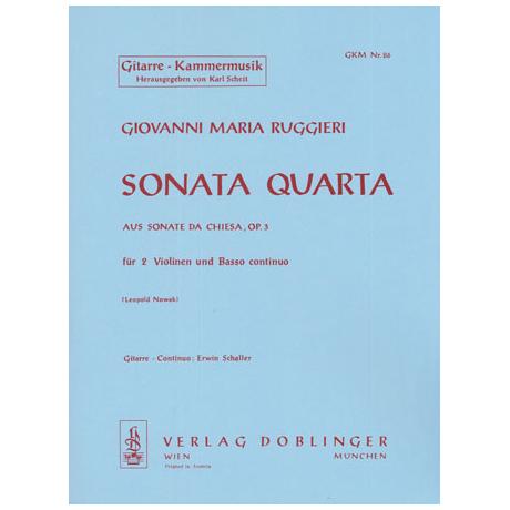 Ruggieri, G.M.: Sonata quarta F-Dur Op.3