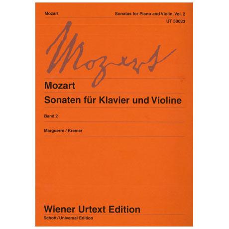 Mozart, W. A.: Violinsonaten Band 2 KV 296 / KV 317 / KV 373 & 374