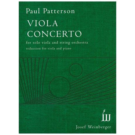 Patterson, P.: Violakonzert Op.101