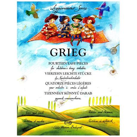 Leggierissimo - Grieg: Vierzehn leichte Stücke