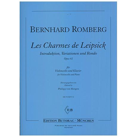 Romberg, B.: Les Charmes de Leipsick Op.61