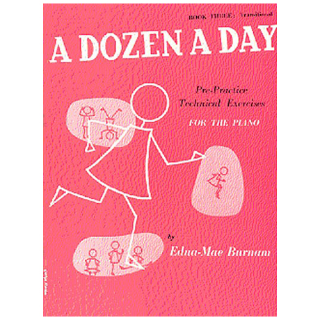Burnam, E. M.: A Dozen A Day Book 3: Transitional