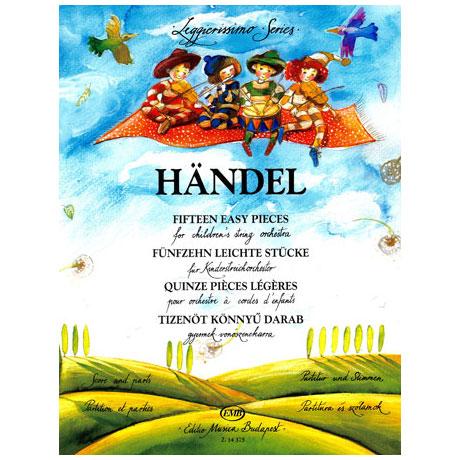 Leggierissimo - Händel: Fünfzehn leichte Stücke