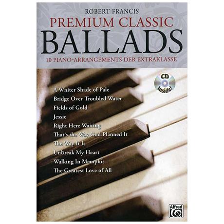 Francis, R.: Premium Classic Ballads (+ CD)