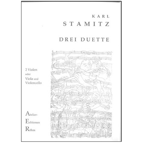 Stamitz, K.: 3 Duette
