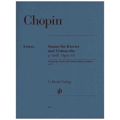 Chopin, F.: Sonate g-Moll, Op. 65 Urtext