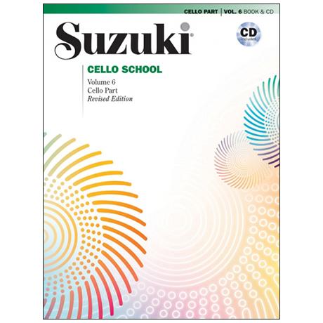 Suzuki Cello School Vol. 6 (+CD)